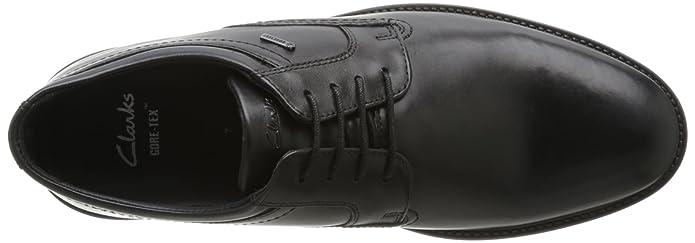 Fawley De Ville Lo Clarks black Homme Chaussures Noir Gtx Z6Tx14