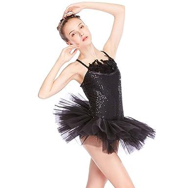 96c28578ecb4 Amazon.com  MiDee Ballet Tutu Dress Dance Costume 2 Pieces Camisole ...