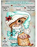 Sherri Baldy My-Besties TM Winter Wonderland Filled With Love Coloring Book: Sherri Baldy Christmas Holiday Coloring Book