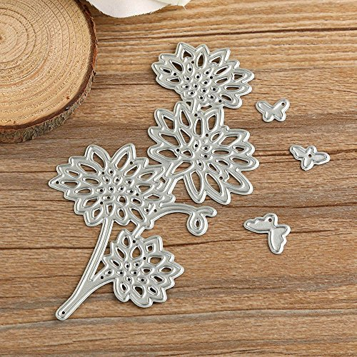 WOCACHI Metal Cutting Dies Stencils Scrapbooking Embossing Mould Templates Handicrafts Paper Cards 2019 DIY Gift Card Making 130-61 N