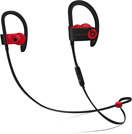 Beats Power Beats_3 Wireless Earphones Decade Collection in Defiant Black Red