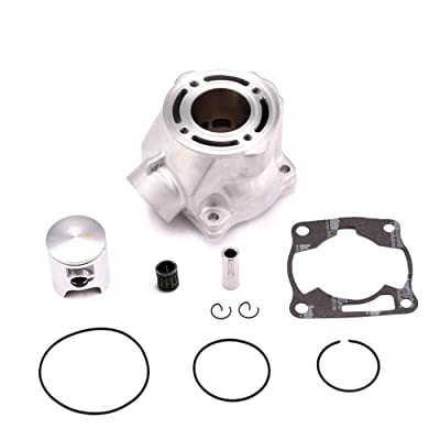Yamaha YZ80 YZ85 Cylinder Piston Gasket Kit Bore 47.5mm ATV Direct Replacement: Automotive