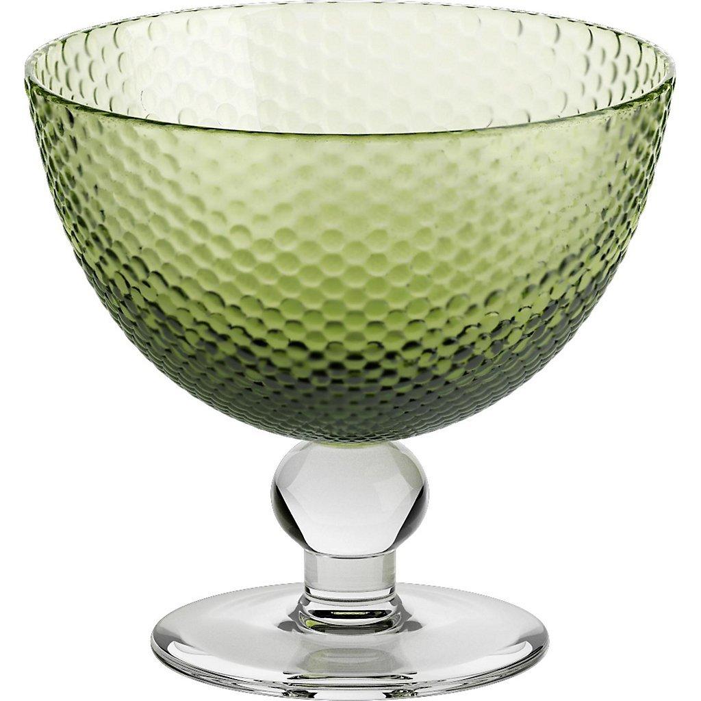 Eisschale Dessertschale Eisbecher Glas Bubbles Hellgr/ün 11 cm Gelato Vero