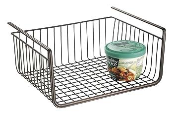Drahtkörbe für küchenschränke  mDesign Hängekorb aus Draht – robuster Drahtkorb – perfekter ...