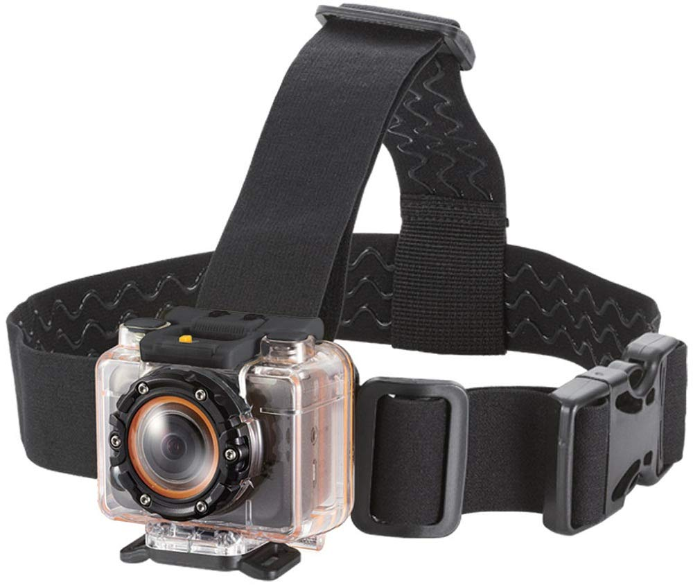Monoprice 110635 Vented Head Mount for MHD Sport Wi-Fi Action Camera by Monoprice