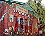 Outside Boston Red Sox Fennway Park. 8x10 photo Picture
