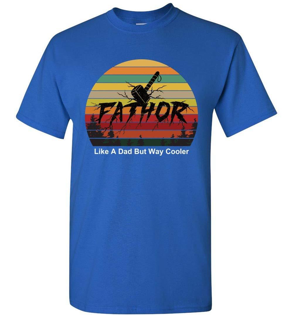 Fa-thor Like A Dad Just Way Cooler Papa T-shirt