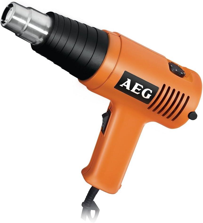 AEG Powertherm 600 EC - Pistola de aire caliente [Importado de Alemania]