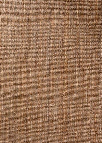 Persian-Rugs HS Natural Dara Handspun Jute 5×7 Area Rug Hand Woven