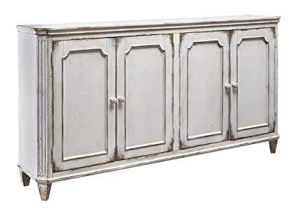 "Ashley Furniture Signature Design - Mirimyn 71"" 4-Door Accent Cabinet  - Vintage - - Amazon.com: Ashley Furniture Signature Design - Mirimyn 71"