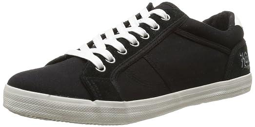 Kaporal Trevis - Zapatillas de cuero para hombre, color negro, talla 45