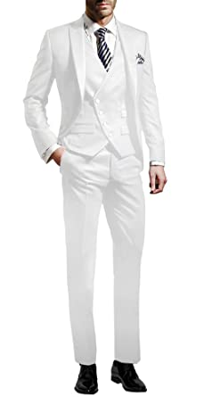 Suit Me Hommes 3 Pieces Costume Slim Fit Mariages Party Tuxedo Costumes  Blazer 5c302949ac5