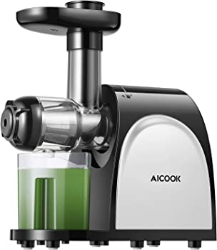 AICOOK Slow Masticating Wheatgrass Juicer