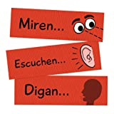 Classroom Commands Spanish Signs