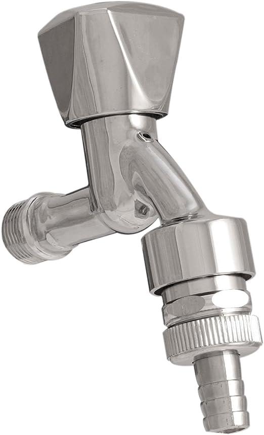 Sanifri 470010024 - Válvula de salida (difusor de tubo y retención, conexión para agua fría, 1/2