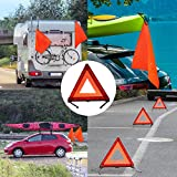 5PCS Safety Flag with Grommets and Bungee Cord