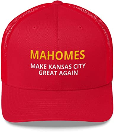 outlet store pick up save off Amazon.com : LiberTee Mahomes Chiefs Hat, Make Kansas City Great ...
