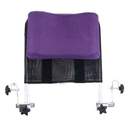 IPOTCH Soporte de Cuello Reposacabezas de Asiento de Ruedas Facil de Instalar - Púrpura