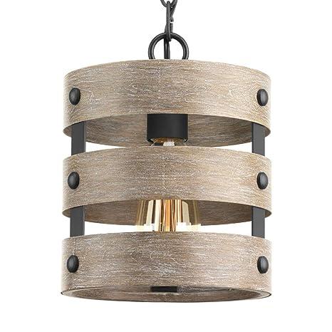 Amazon.com: Mini colgante vintage de una sola luz – MKLOT ...