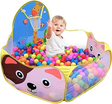 Piscine di Palline per Bambini Tenda da Interno//Esterno Pieghevole per Giocattoli Tenda da Gioco Portatile Regalo per Bambini con Borsa Palline non Incluse