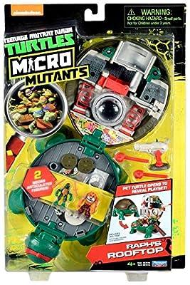 Teenage Mutant Ninja Micro Raphael's Roof Top Pet Turtle To Playset