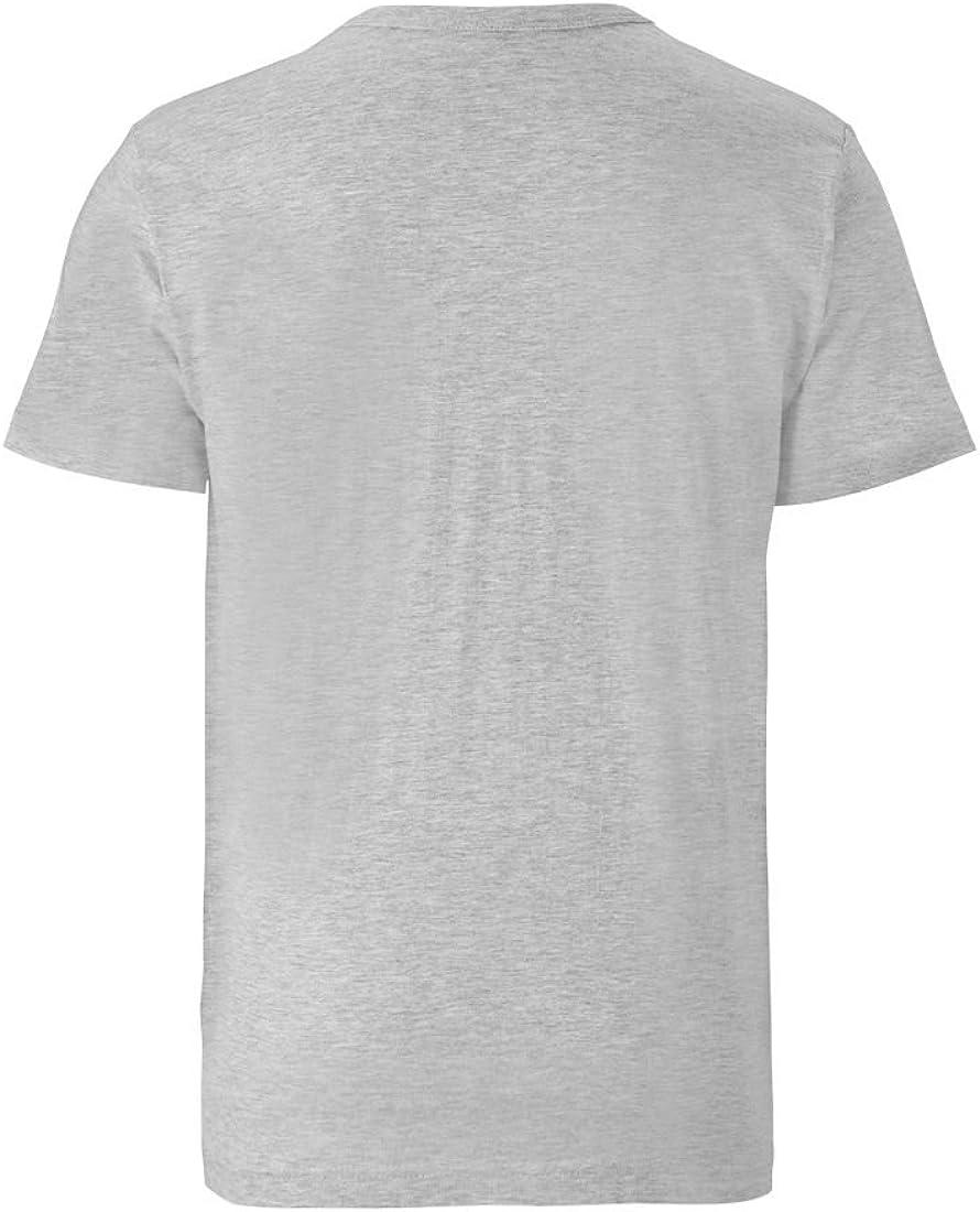 Stormtrooper- Maglietta Girocollo Grigio Melange Design Originale Concesso su Licenza Maglia Guerre Stellari Logoshirt T-Shirt Gli assaltatori Star Wars