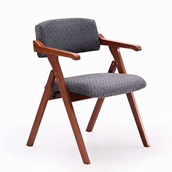 HHCS Nordic Minimalist Esszimmerstuhl Holz Handläufe Kreative Mit  Klappstühle Schreibtisch Stuhl Konferenzstuhl Freizeit Stühle (55