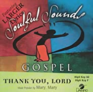 Thank You Lord [Accompaniment/Performance Track]