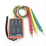 VTSYIQI SM852B 3 Phase Rotation Indicator 3 Phase