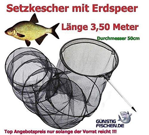 S/änger Setzkescher Combo inkl Tasche /& Erdspie/ß