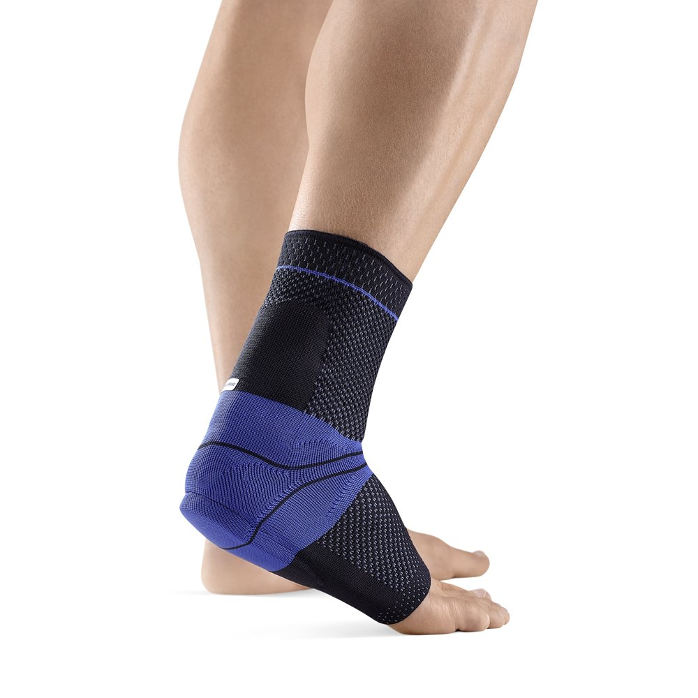 Bauerfeind AchilloTrain Right Achilles Tendon Support (Black, 4)