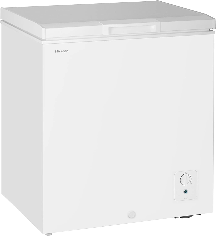 Hisense FC51D7AWD 5.1 cu. ft. Chest Freezer, White