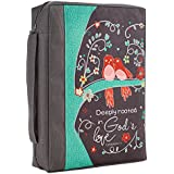 Bible Cover Poly Canvas God's Love Ephesians 3: 17 Large