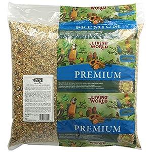 Living World Cockatiels And Lovebirds Premium Mix Handle Bag, 20-Pound 76