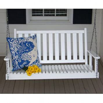 white porch swing for sale seating company slat lowes home depot
