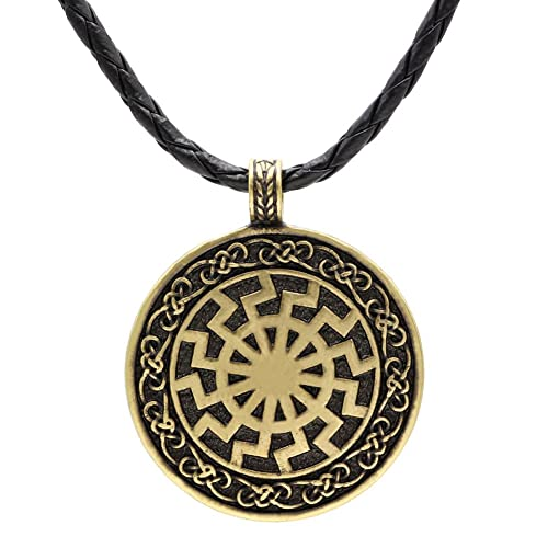 Ttkp black sun viking pendant viking necklace norse viking jewelry ttkp black sun viking pendant viking necklace norse viking jewelry sonnenrad aloadofball Image collections