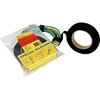3M Scotch-Flex 7000033355 FE510090304 klittenband, zwart