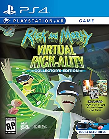 Rick & Morty Virtual Rick-Ality Collector's Edition - PlayStation 4