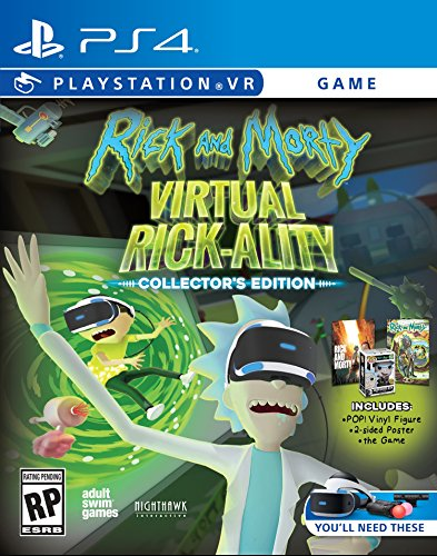 Rick & Morty Virtual Rick-Ality ...