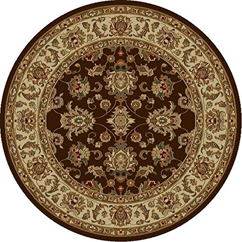 KAS Oriental Rugs Lifestyles Collection Kashan Round Area Ru