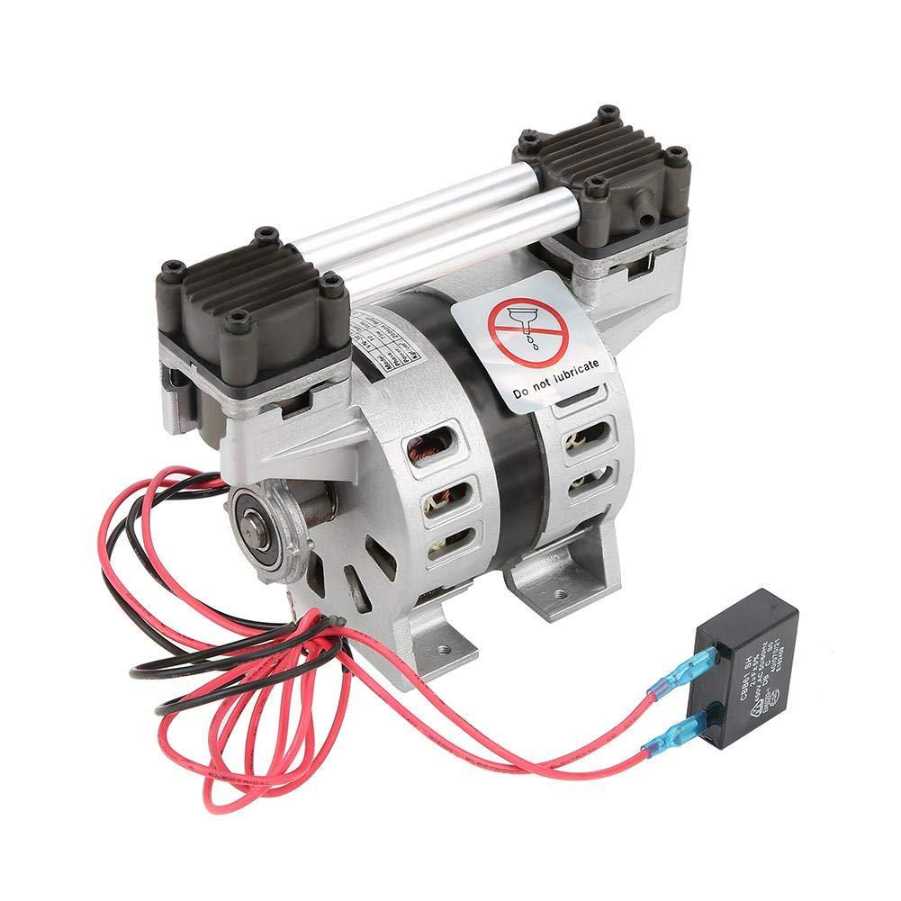 Oil-Free Vacuum Pump,Vacuum Air Pump Oilless Oilfree Oil-Less Oil-Free Vacuum Pump,VN-30 Mini Oil-Free Vacuum Air Pumping Built-in Silencer Pump 220V 75W