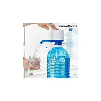 InnovaGoods Dispensador de Agua para Garrafas, Polipropileno, Blanco/Azul, 16.5x8x18 cm: Amazon.es: Hogar