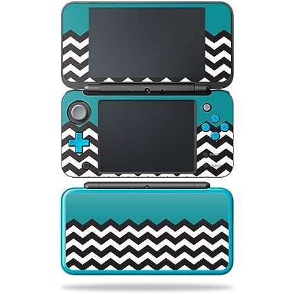 Amazon.com: Piel Para New Nintendo 2DS XL – Teal chevron ...