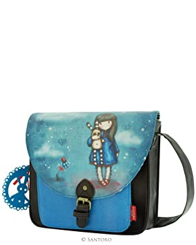 0fb211c156b6 Gorjuss Hush Little Bunny Saddle Bag Satchel With: Amazon.co.uk ...