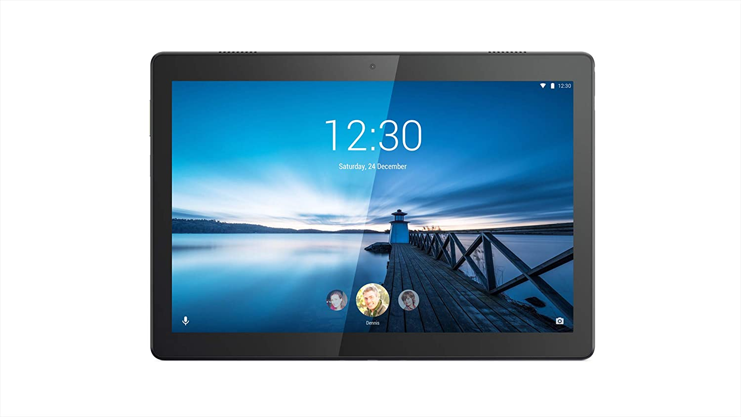 "Lenovo Tab M10 10.1"" Android Tablet 1.8GHz 32GB Storage Slate Black ZA480019US"