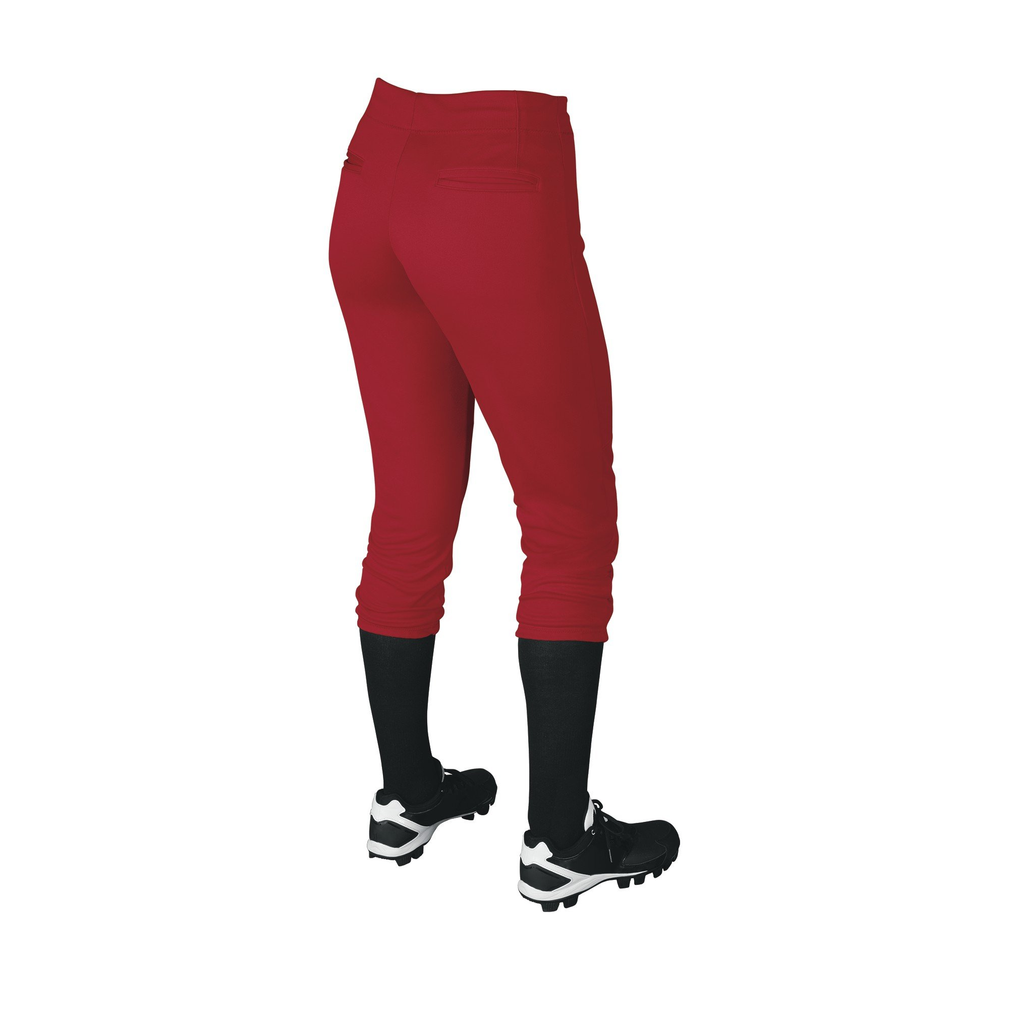 DeMarini Womens Sleek Pull Up Pant, Scarlet, Small by DeMarini (Image #2)