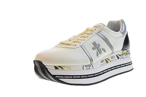 PREMIATA Scarpe Donna Sneakers Basse con Platform Beth 3871