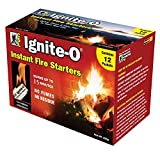 Ignite-O FS855-24 Instant Fire Starter, 12-Pack, Brown/A