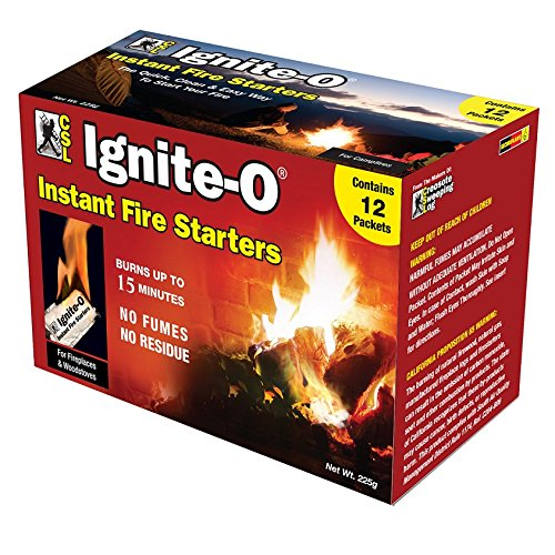Ignite-O Instant Fire Starter - Fire Logs Starter For Pit