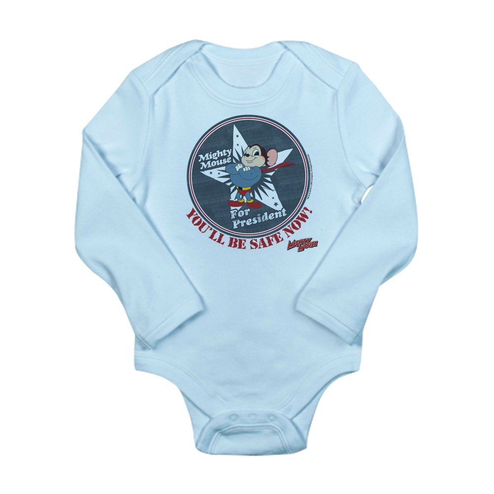 Baby Romper A Girl Has No President 100/% Cotton Long Sleeve Infant Bodysuit